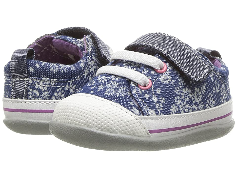 See Kai Run Kids Stevie II (Infant/Toddler) (Blue Flowers) Girl
