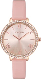 Ladies Quartz Watch Women Fashion Leather Wristwatch...