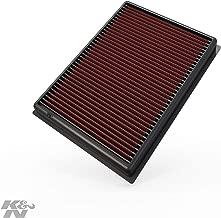K&N engine air filter, washable and reusable: 2010-2019 Toyota/Lexus SUV V6/V8 (4runner, GX460, Land Cruiser, FJ Cruiser, Prado) 33-2438