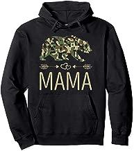 Mama Bear Camo Hoodie Hoody Mother's Day Gift