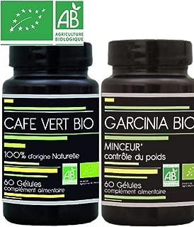 Aquasilice INNOV Kit Minceur Garcinia cambogia BIO Gelules Cafe Vert BIO Gelules-