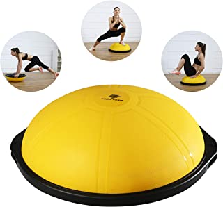 """Finer Form Half Ball Balance Trainer for Home Gym Training,  Yoga,  Full-Body Workout - 25""""/64 cm"""