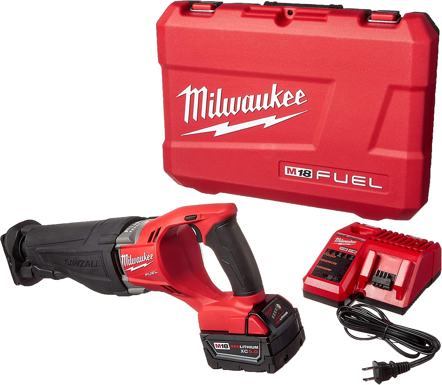 Milwaukee 2720-21 Beauty products M18 Fuel Kit Sawzall Max 66% OFF Reciprocating Saw