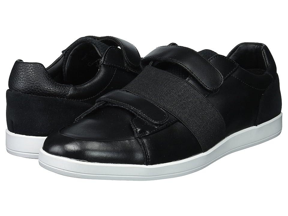 Calvin Klein Mace (Black Brushed Leather) Men