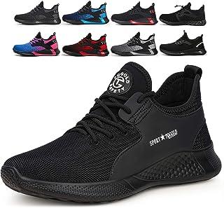 AONETIGER Chaussure de Securité Homme Femmes S3 Légères Embout Acier Basket de Securite Chaussures de Travail Eté