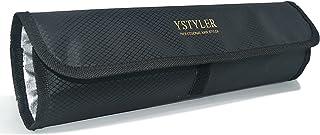 YSTYLER ヘアアイロン 専用耐熱ポーチ(ブラック) YSB-008B