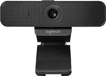 Amazon.nl-Logitech C925-E Business Webcam, HD 1080p/30fps Video Bellen, Lichtcorrectie, Autofocus, Clear Audio, Privacy Shade, Werkt met Skype Business, WebEx, Lync, Cisco, PC/Mac/Laptop/Macbook - Zwart-aanbieding