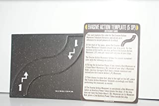 Star Trek Attack Wing - Evasive Action Card and Template Q-Continuum OP