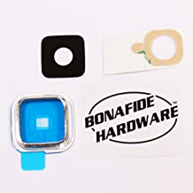 Bonafide Hardware - Replacement Part for Samsung Galaxy S5 Camera Glass Lens (Silver)