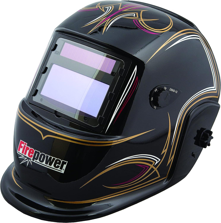 Dedication Firepower 1441-0085 Sale SALE% OFF Auto-Darkening Welding Helmet with Pinstripe