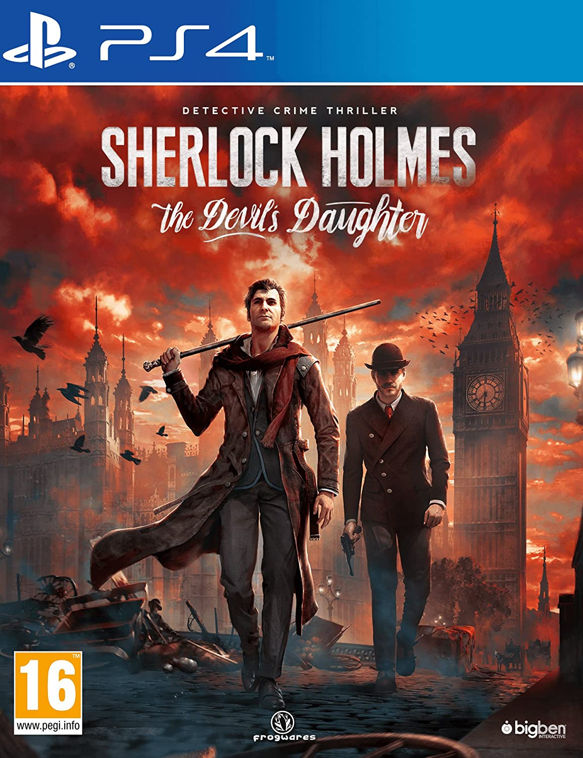 5% OFF SEAL limited product Sherlock Holmes: The Devil's PS4 Daughter
