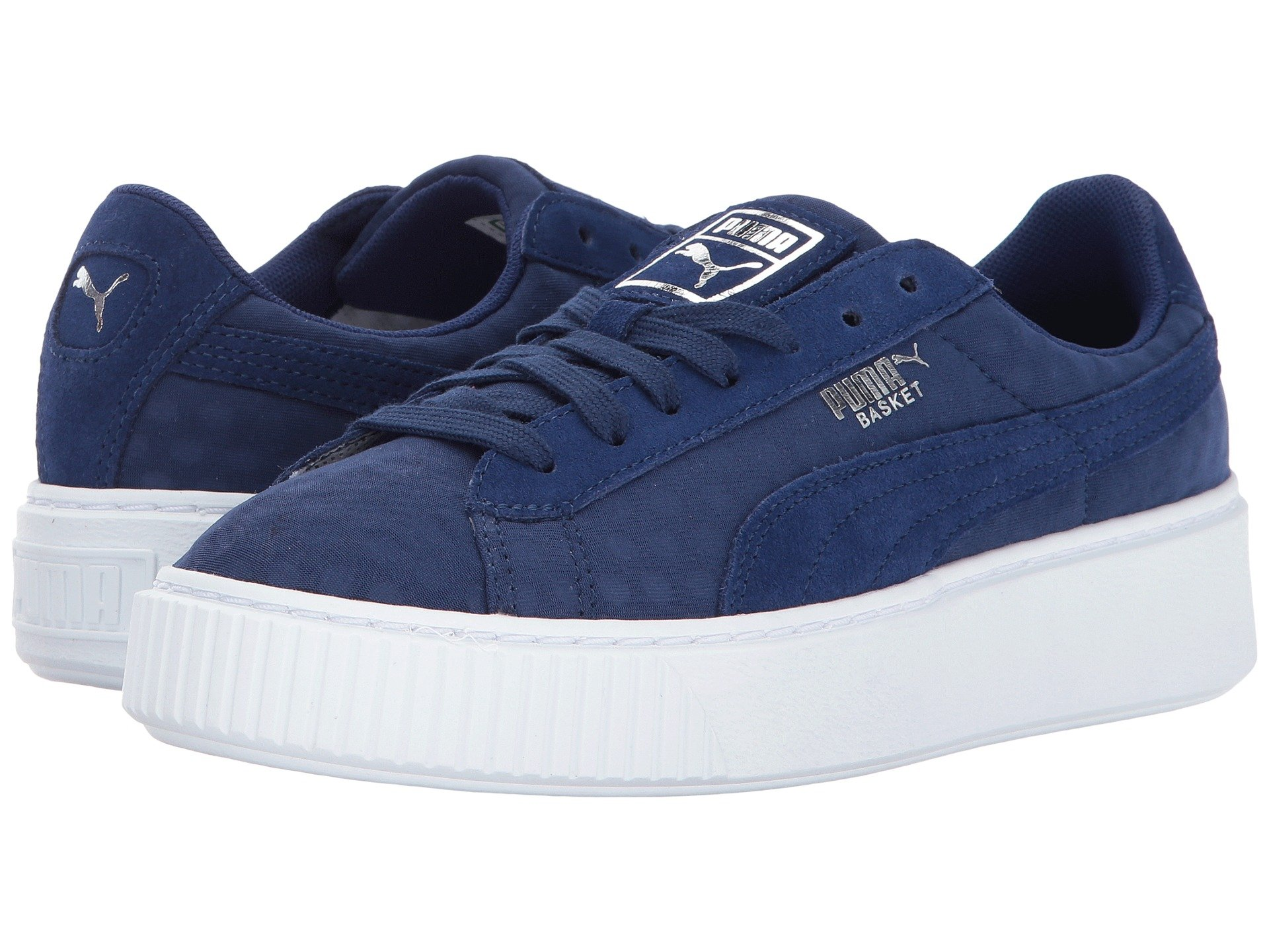 Basket Platform Denim