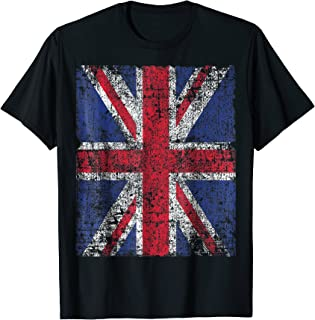 PUNK ROCKER UK FLAG T-shirt