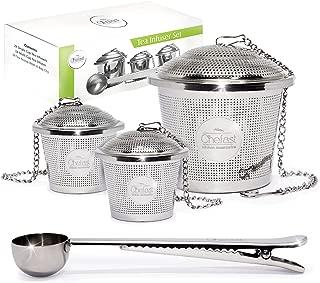 tea strainer set