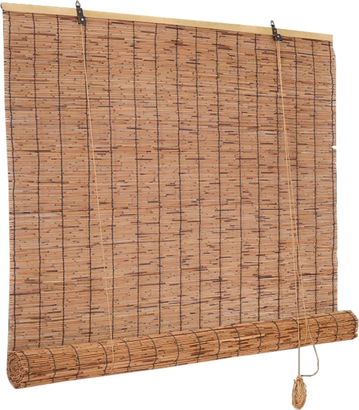 ZXLL Bamboo Blind for Cheap SALE Start Window Size Customizable Outdoor Reservation Bl Roller