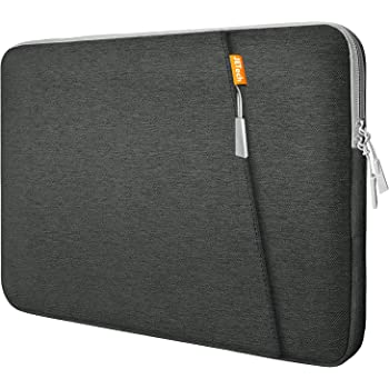 "JETech Laptop Sleeve Compatible for 13.3-Inch Notebook Tablet iPad Tab, Compatible with 13"" MacBook Pro and MacBook Air,Waterproof Shock Resistant Bag Case with Accessory Pocket, Grey"