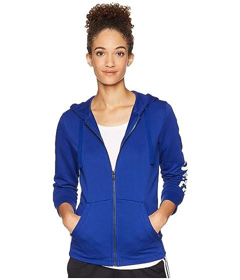 Shop Adidas Originals Essentials Linear Full Zip Hoodie ddd30d188
