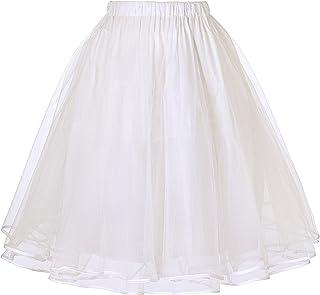 Belle Poque Falda Mujer 50s Retro Rockabilly Faldas Falda