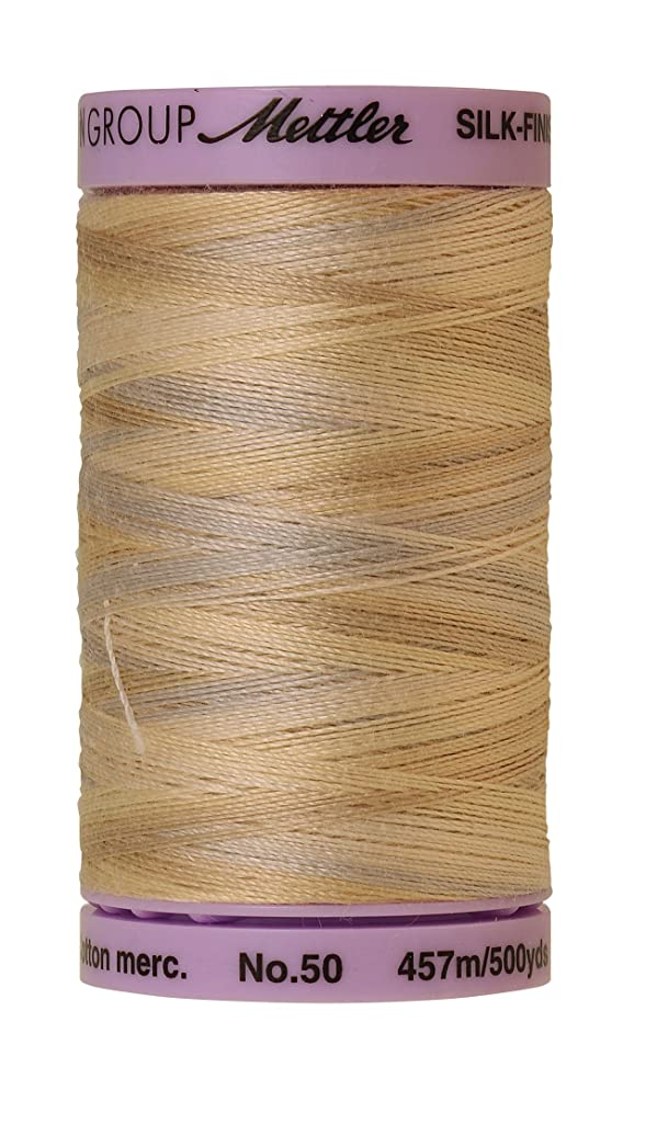 Mettler Silk-Finish Variegated Cotton Thread, 500 yd/475m, Pearl Tones
