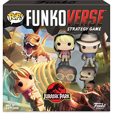 Funkoverse: Jurassic Park 100 4-Pack Board Game