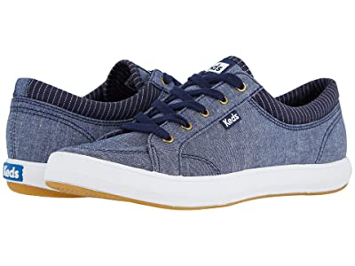 Keds Center Chambray (Navy) Women