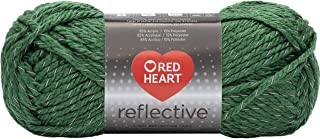 RED HEART Reflective Yarn, Olive