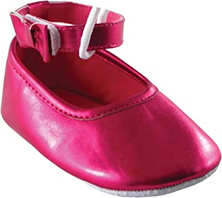 Luvable Friends Baby-Girls Girl Ankle Bow Shoe - K Girl Ankle Bow Shoe - K
