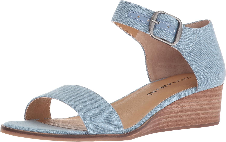 Lucky Brand Womens Riamsee Wedge Sandal