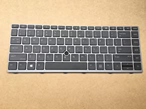 Original New for HP EliteBook 840 G5 846 G5 745 G5 US Backlit Keyboard with Mouse Point Gray Frame