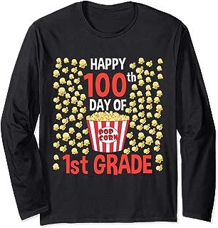 Best 100th day of school popcorn shirt Reviews