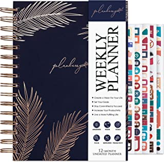 $22 » Sponsored Ad - PLANBERRY Weekly Planner – Elegant Life & Budget Planner to Hit Your Goals & Live Happier - Organizer & Pro...