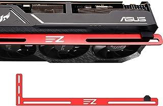 EZDIY-FAB Soporte de Tarjeta gráfica Un Soporte para Tarjeta de Video, GPU VGA Brace Sag, para Juegos Personalizados de PC...