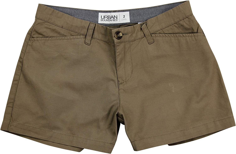 Urban Boundaries Women's Flat Front Chino Shorts