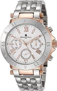 [サルバトーレマーラ]Salvatore Marra メンズ腕時計 マルチカレンダー 10気圧防水 SM14118-PGWH メンズ 【正規輸入品】