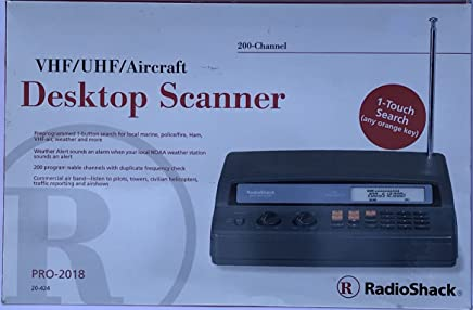 Amazon com: radio shack - Radio Scanners / Security & Surveillance