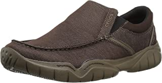 crocs Men's Swiftwater Casual Slip-on Loafer Flat