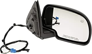 Dorman 955-1275 Passenger Side Power Door Mirror - Heated/Folding for Select Chevrolet/GMC Models, Black
