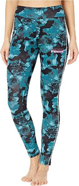 Rebel All Over Print Leggings
