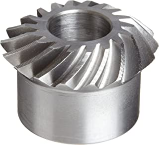 Boston Gear LSA104YR Spiral Miter Gear, 1:1 Ratio, 10 Pitch, 10 Degree Pitch Angle, 35 Degree Spiral Angle, 25 Teeth