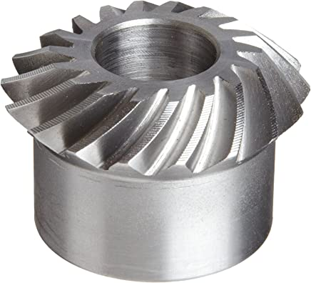 24 Teeth Stainless Steel 20 Degree Pressure Angle 1:1 Ratio 0.188 Bore Boston Gear GSS463Y Miter Gear 32 Pitch