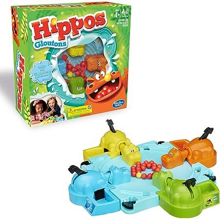 Hippos Gloutons, Jeu de societe pour enfants, Version francaise