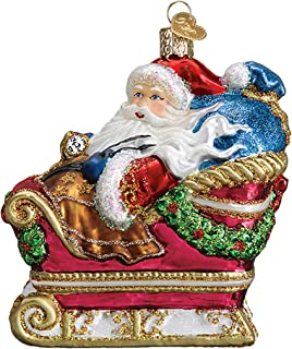 Old World Christmas Santa in Sleigh