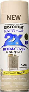 Rust-Oleum 299883 Painter's Touch 2X Ultra Cover, 12 oz, Smokey Beige