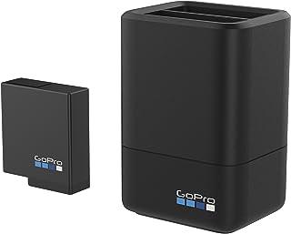 GoPro AADBD-001-ES - Cargador de batería Dual y batería para Hero 5 Negro