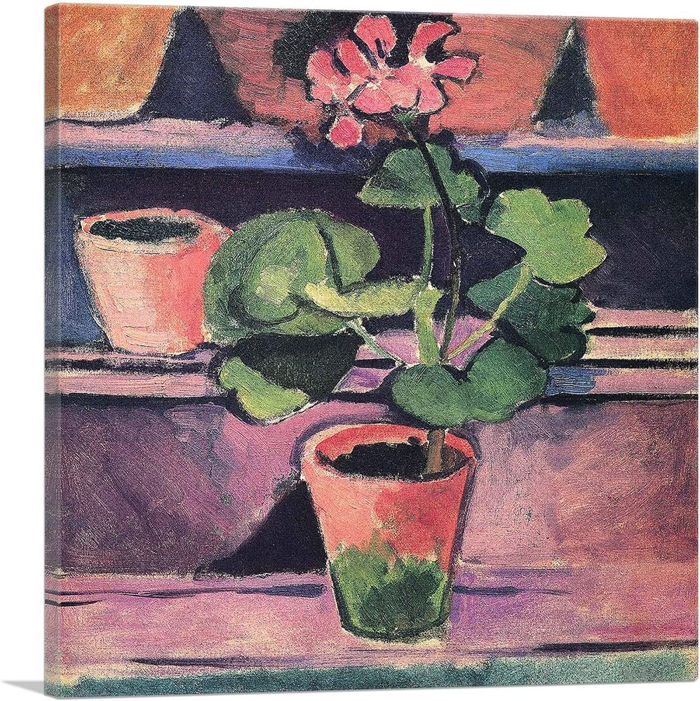 ARTCANVAS Pot of Geraniums 1912 Canvas Matiss by Henri Print Art Low NEW before selling ☆ price