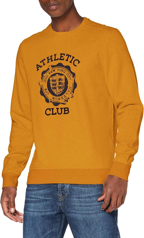 Izod Super Soft Athletic Club Crew Maglia di Tuta Uomo
