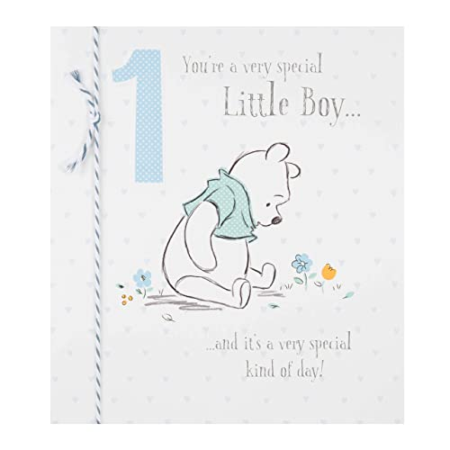 Hallmark Disney Baby 1st Birthday Card Little Boy