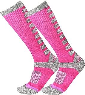 GUUMOR Wool Ski Socks for Women Men Over Calf Warm Supple Comfortable Non Shrink Winter Sports Socks
