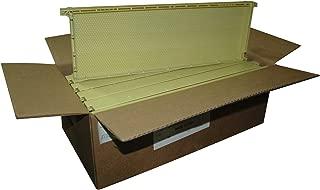 Mann Lake PF126 10-Pack Standard Wax Coated Plastic Frame, 6-1/4-Inch, Natural