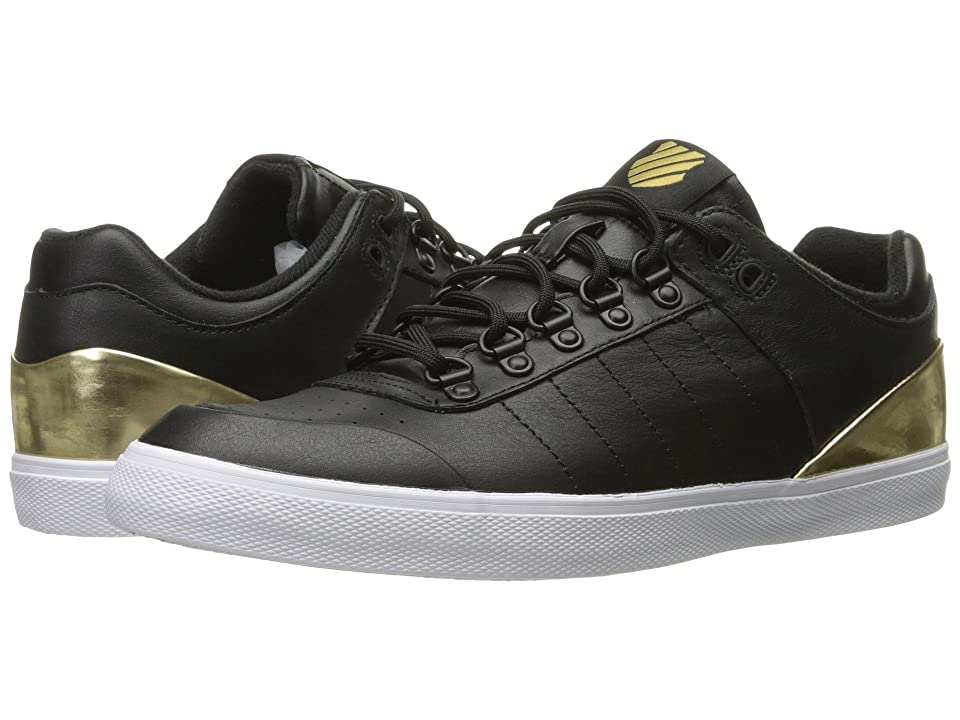 K-Swiss Gstaad Neu Sleek (Black/Gold/White) Women